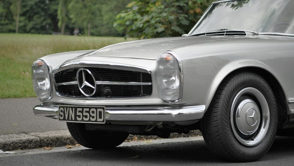 1966 Mercedes 230 SL Pagoda For Sale (picture 67 of 141)