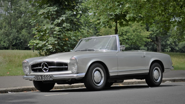 1966 Mercedes 230 SL Pagoda For Sale (picture 4 of 141)