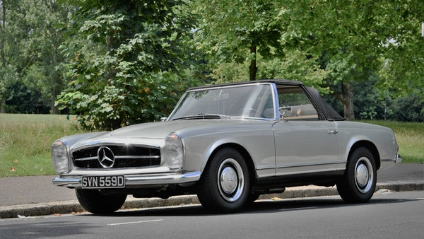 1966 Mercedes 230 SL Pagoda For Sale (picture 3 of 141)