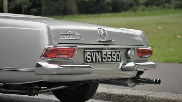 1966 Mercedes 230 SL Pagoda For Sale (picture 65 of 141)
