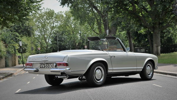 1966 Mercedes 230 SL Pagoda For Sale (picture 11 of 141)