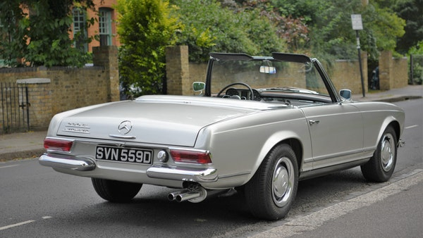 1966 Mercedes 230 SL Pagoda For Sale (picture 13 of 141)