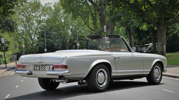 1966 Mercedes 230 SL Pagoda For Sale (picture 12 of 141)