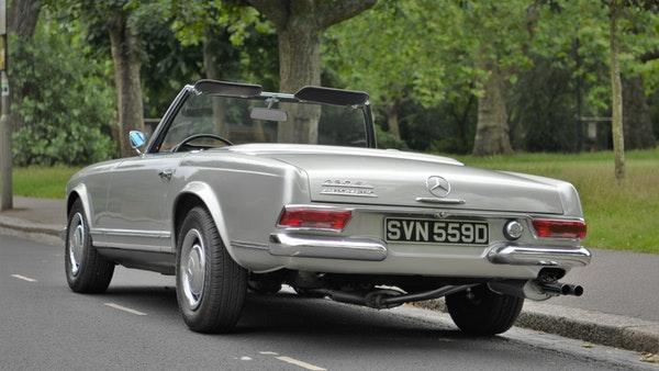 1966 Mercedes 230 SL Pagoda For Sale (picture 16 of 141)