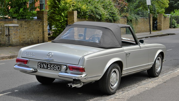 1966 Mercedes 230 SL Pagoda For Sale (picture 14 of 141)