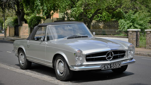 1966 Mercedes 230 SL Pagoda For Sale (picture 8 of 141)