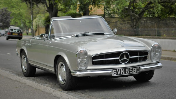 1966 Mercedes 230 SL Pagoda For Sale (picture 1 of 141)