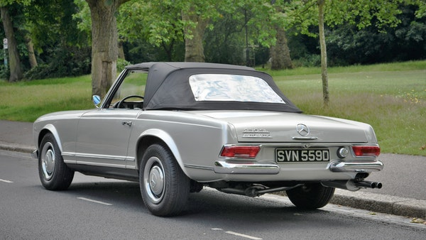 1966 Mercedes 230 SL Pagoda For Sale (picture 18 of 141)