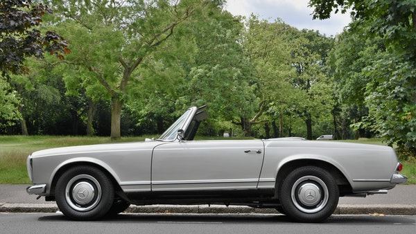 1966 Mercedes 230 SL Pagoda For Sale (picture 20 of 141)