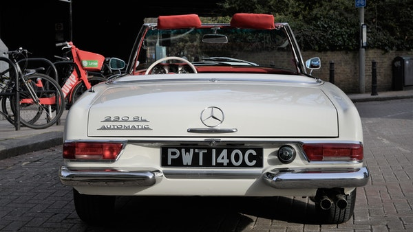 1965 Mercedes-Benz 230 SL Pagoda For Sale (picture 10 of 119)