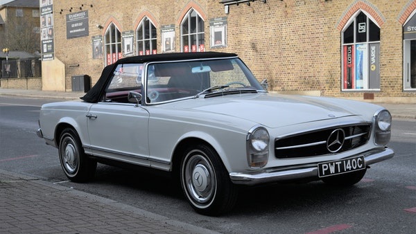 1965 Mercedes-Benz 230 SL Pagoda For Sale (picture 16 of 119)