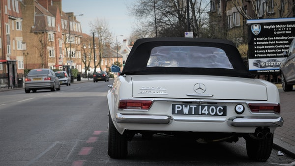 1965 Mercedes-Benz 230 SL Pagoda For Sale (picture 14 of 119)