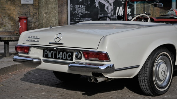 1965 Mercedes-Benz 230 SL Pagoda For Sale (picture 44 of 119)