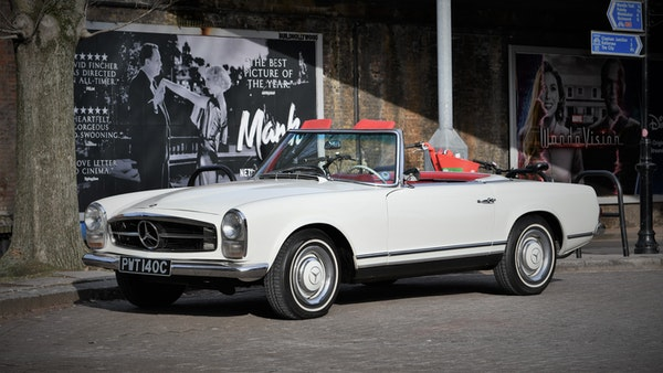 1965 Mercedes-Benz 230 SL Pagoda For Sale (picture 9 of 119)