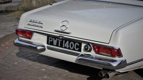 1965 Mercedes-Benz 230 SL Pagoda For Sale (picture 46 of 119)