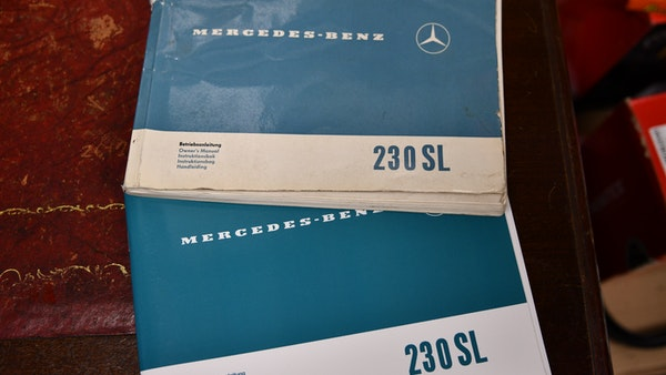 1965 Mercedes-Benz 230 SL Pagoda For Sale (picture 110 of 119)