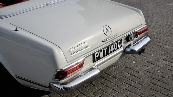 1965 Mercedes-Benz 230 SL Pagoda For Sale (picture 47 of 119)