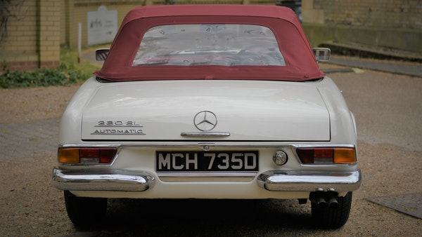 1966 Mercedes-Benz 230 SL 'Pagoda' For Sale (picture 21 of 131)