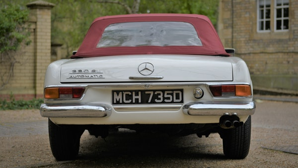 1966 Mercedes-Benz 230 SL 'Pagoda' For Sale (picture 20 of 131)