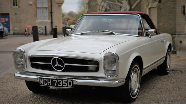 1966 Mercedes-Benz 230 SL 'Pagoda' For Sale (picture 25 of 131)