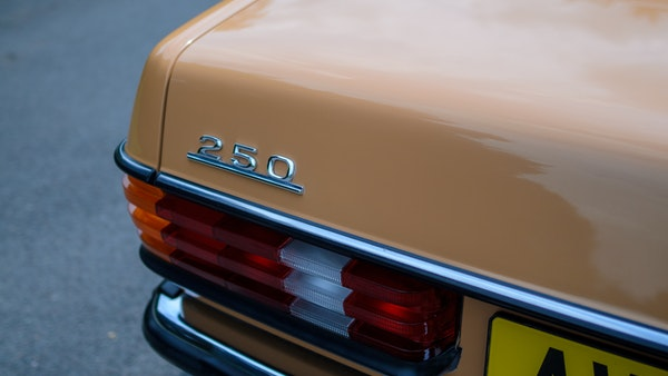 1978 W123 Mercedes 250 For Sale (picture 79 of 108)