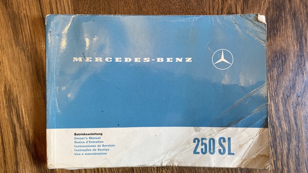 1967 Mercedes-Benz 250SL Pagoda Automatic For Sale (picture 146 of 150)