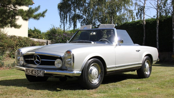 1967 Mercedes-Benz 250SL Pagoda Automatic For Sale (picture 17 of 150)
