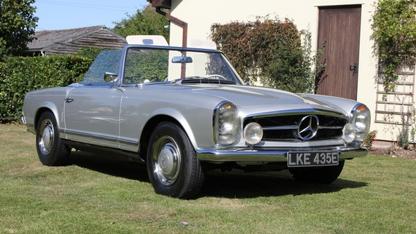 1967 Mercedes-Benz 250SL Pagoda Automatic For Sale (picture 11 of 150)
