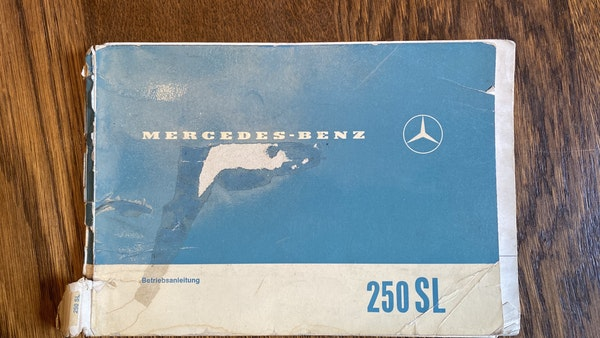 1967 Mercedes-Benz 250SL Pagoda Automatic For Sale (picture 149 of 150)