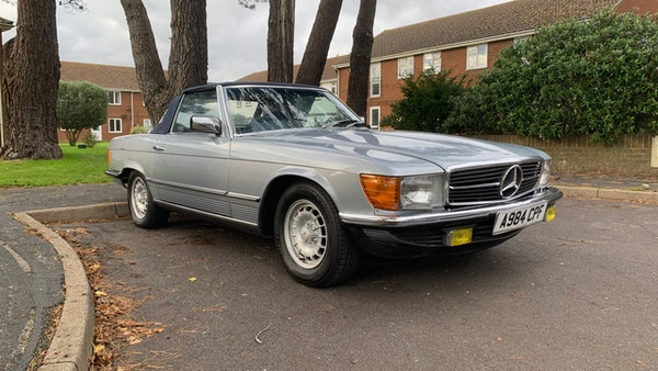 1983 Mercedes 280 SL Convertible For Sale (picture 24 of 182)