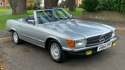 1983 Mercedes 280 SL Convertible