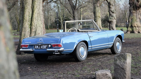 1968 Mercedes-Benz 280 SL Pagoda For Sale (picture 5 of 107)