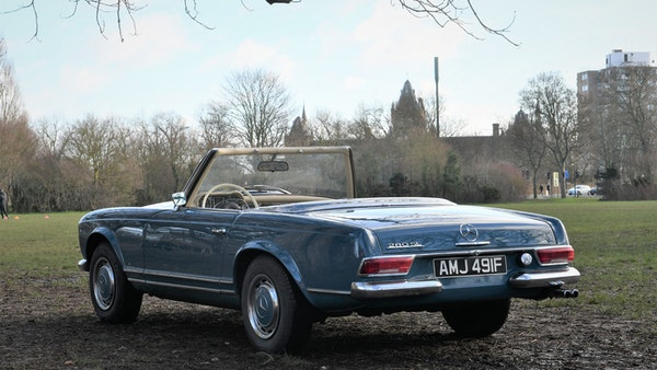 1968 Mercedes-Benz 280 SL Pagoda For Sale (picture 7 of 107)