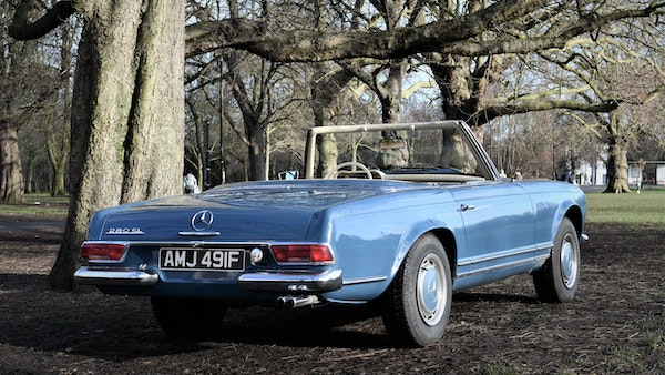 1968 Mercedes-Benz 280 SL Pagoda For Sale (picture 8 of 107)