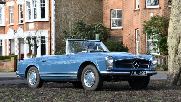 1968 Mercedes-Benz 280 SL Pagoda For Sale (picture 1 of 107)