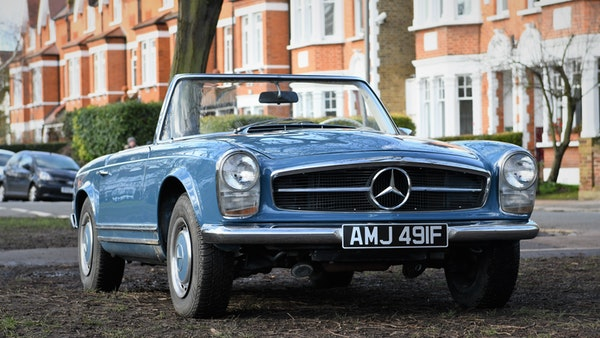 1968 Mercedes-Benz 280 SL Pagoda For Sale (picture 4 of 107)