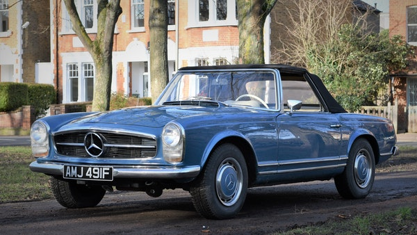 1968 Mercedes-Benz 280 SL Pagoda For Sale (picture 15 of 107)