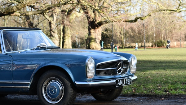 1968 Mercedes-Benz 280 SL Pagoda For Sale (picture 48 of 107)