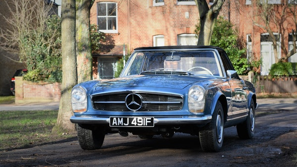1968 Mercedes-Benz 280 SL Pagoda For Sale (picture 16 of 107)