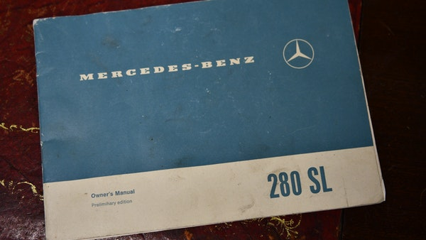 1968 Mercedes-Benz 280 SL Pagoda For Sale (picture 88 of 107)