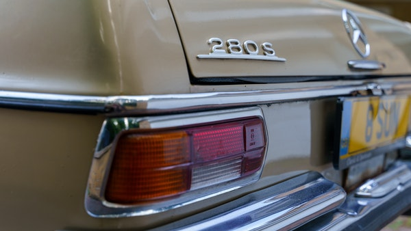 1972 Mercedes-Benz 280S LHD (W 108) For Sale (picture 80 of 140)