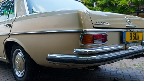 1972 Mercedes-Benz 280S LHD (W 108) For Sale (picture 89 of 140)