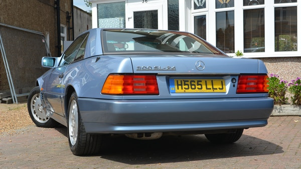 1991 Mercedes-Benz 300 SL-24 For Sale (picture 25 of 167)
