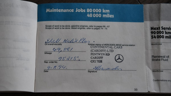 RESERVE LOWERED - 1987 Mercedes-Benz 300 SL For Sale (picture 116 of 151)