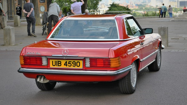 RESERVE LOWERED - 1987 Mercedes-Benz 300 SL For Sale (picture 16 of 151)