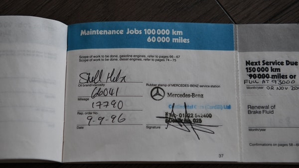 RESERVE LOWERED - 1987 Mercedes-Benz 300 SL For Sale (picture 125 of 151)