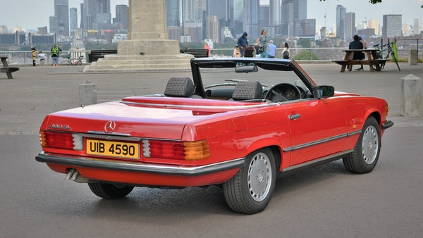 RESERVE LOWERED - 1987 Mercedes-Benz 300 SL For Sale (picture 18 of 151)