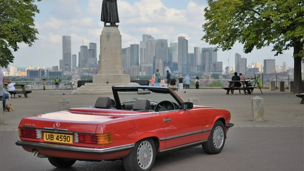 RESERVE LOWERED - 1987 Mercedes-Benz 300 SL For Sale (picture 19 of 151)