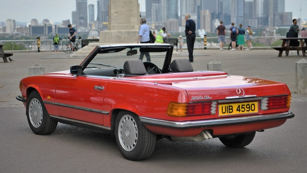 RESERVE LOWERED - 1987 Mercedes-Benz 300 SL For Sale (picture 8 of 151)