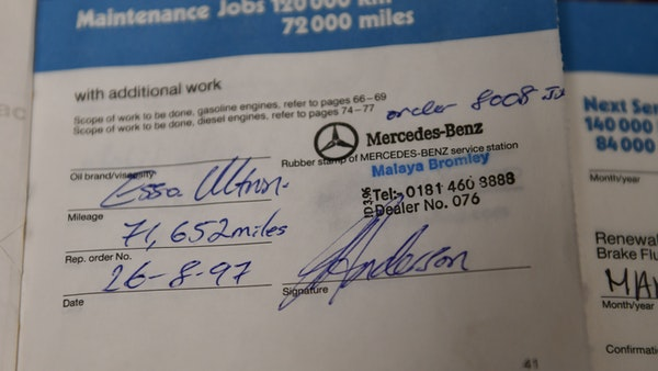 1987 Mercedes-Benz 300 SL For Sale (picture 144 of 148)